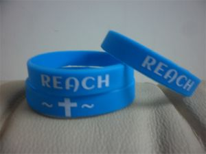 Own Factory Manufacture Silicone Bracelets, Custom Texture & Logo Embossed Silicone Wristband P10029