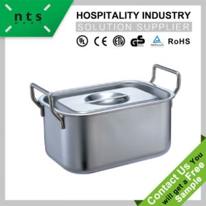 Sauce Bucket with Lid for Hotel and Restaurant Kitchen Utensils pictures & photos
