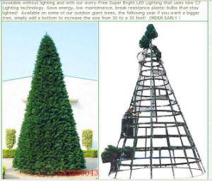 metal frame christmas tree for outdoor xmas decoration gt1200043