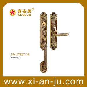 High Quality Hardware Brass Handle Door Lock (DM-07B07-06)