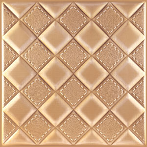 2016 New Design Embossed 3D Effect Leather Wall Panel pictures & photos