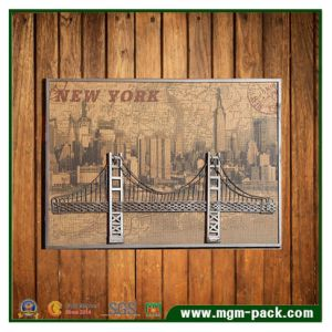 3D Bridge Landscape Metal Painting for Sale pictures & photos
