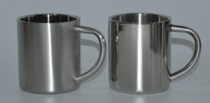 18- 8 Stainless Steel Double Wall Water Cup 220ml (JX-072B)