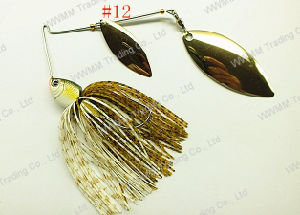 High Grade Brass Blade Spinner Bait Fishing Lure (HWZ012) pictures & photos
