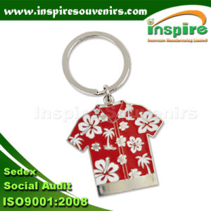 Jamaica Customized T-Shirt Shaped Key Chain for Souvenir (MS471) pictures & photos