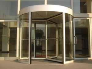 Three Wing Automatic Revolving Door pictures & photos