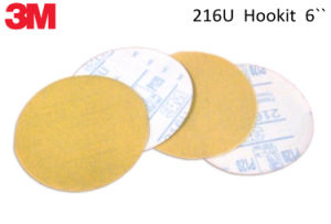 3m 216u Hookit Sand Paper in 6inch pictures & photos
