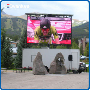 pH5.95 Outdoor Rental LED Display Screen 500X1000mm Cabinet