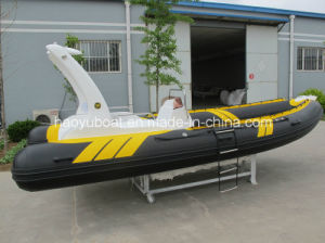 19 Feet 5.8m Rigid Inflatable Boat, Luxury Boat, Rafting Boat, China Boat, Motor Boat pictures & photos