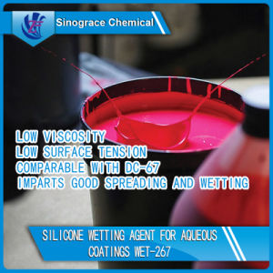 Silicone Wetting Agent for Ink/Plastic pictures & photos