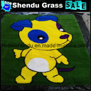 Door Mat for Floor with Artificial Grass Yarn Material pictures & photos