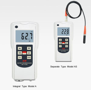 The Iron-Based and Non-Ferrous Standard Type Coating Thickness Gauge