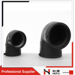 HDPE Plastic Plumbing Fitting Electrofusion 90 Degree Pipe Elbow pictures & photos