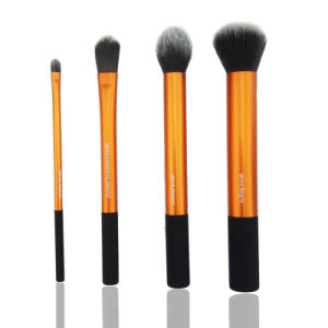 4PCS Hot PRO Makeup Powder Buffing Cosmetic Face Brush Sets