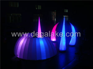 Inflatable Tusk with LED Light, Inflatable Event Decoration