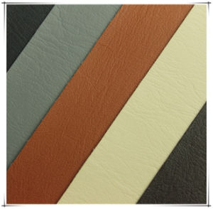 Microfiber PU Leather for Shoes, Bags, Furniture, Garment, Decoration (HS-Y81) pictures & photos
