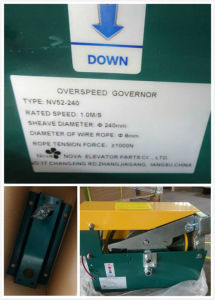Elevator Lift Safety Parts Speed Governor with Tension Device pictures & photos