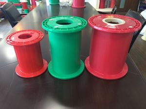 ABS Plastic Spinning Jumbo Bobbins/Spool Bobbins (green, red, white, black for choose) pictures & photos