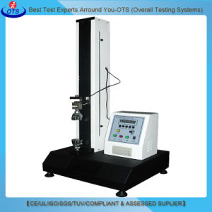 Automatic Single Column Fiber Tensile Strength Testing Machine pictures & photos