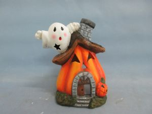 Halloween Pumpkin Ceramic Arts and Crafts (LOE2681-17z)