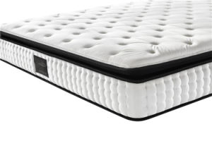 Deluxe Memory Foam Massage Mattress pictures & photos