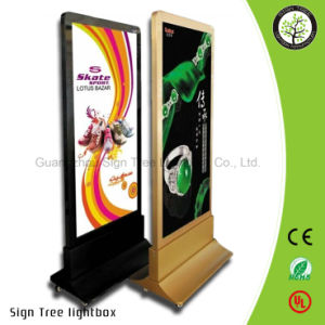 Indoor Advertising Aluminium Snap Slim LED Light Box pictures & photos