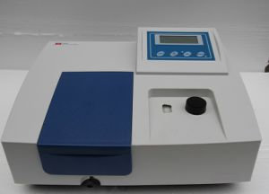 Single Beam UV Vis Spectrophotometer pictures & photos