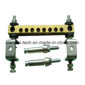 Tinned Ground Bus Bar Kit for Coxial Cable