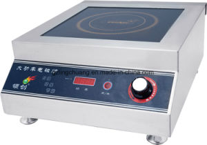 3500W High Quality Commercial Induction Cooker for Sinpore
