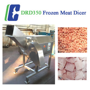 Frozen Beef Chicken Meat Cutter Cutting Machine CE pictures & photos