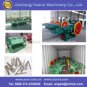 Automatic Nail Making Machine to Make Nails/Wire Steel Iron Nail Machine pictures & photos