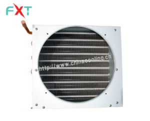 Aluminum Fin Copper Coil Condenser with Cover