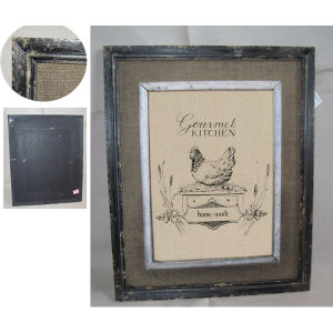 Antique Wooden Wall Rooster Wall Plaque