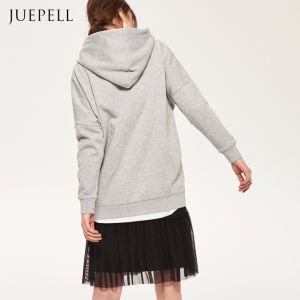 Long Sweatshirt with Zip pictures & photos
