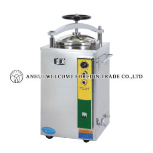 Vertical Pressure Steam Sterilizer Hand Round Automatic