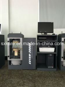 0.5 Grade Computerized Electr0-Hydraulic Servo Compression Testing Machine (CXYAW-2000S) pictures & photos