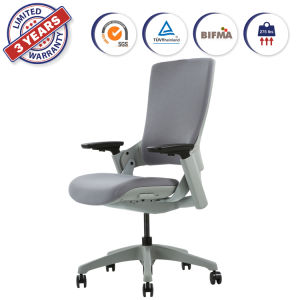 China Adjustable Height Upholstered High Back Home Office Chair With 3d Arm Rest Lumbar Support 247 China Office Chair Swivel Chair