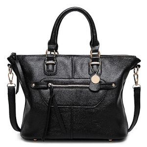 Wholesale Factory New Style Soft Handbag Women Tote Shoulder Bags for Lady with Fringe Sy8438 pictures & photos