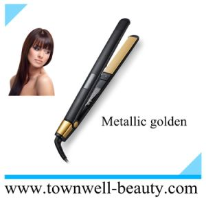 Beauty Salon Equipment Black Color of Ceramic Hair Straightener