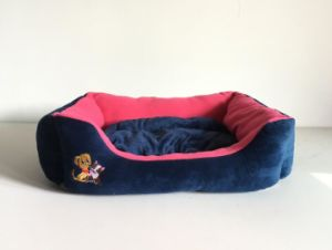 Two Colors Detachable Kennel with Lovely Pet Embroidery pictures & photos