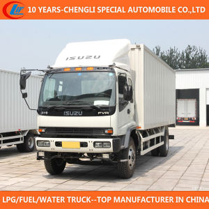 4X2 Isuzu Brand 15cbm 20cbm Cargo Truck for Sale pictures & photos