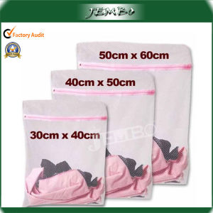 Zipped Net Mesh Laundry Washing Bag Laundry Bags pictures & photos