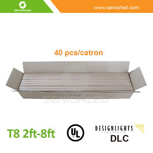 UL Dlc List 2FT 4 FT 8FT T8 LED Tube pictures & photos