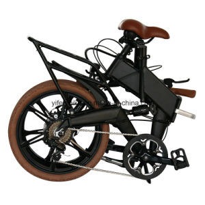 Ks Shock Absorber Folding Mini E-Bike E-Bicycle Electric Bicycle Electric Bike (TDN11Z) pictures & photos