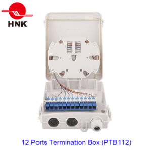 12 Ports Fiber Optic Cable Termination Box (PTB112) pictures & photos
