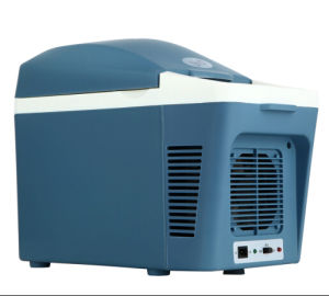 Electronic Mini Fridge 7liter, DC12V, AC100-240V with Cooling and Warming for Car, Office, Home Use pictures & photos
