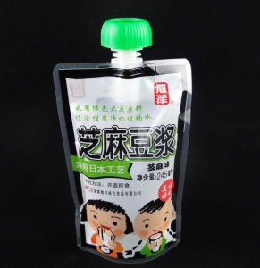 Shock Resistant Juice Packaging Spout Stand up Bag pictures & photos