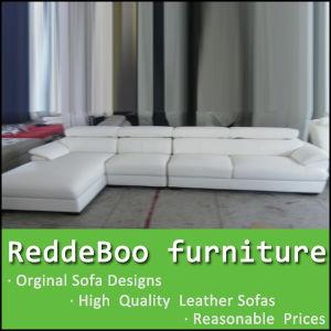 China 100% Genuine Italy White Leather Sofa 255# - China Sofa ...