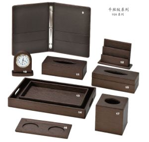 Durable Guestroom PU Leather Product Series for Hotel and Restaurant, Customized Logo pictures & photos