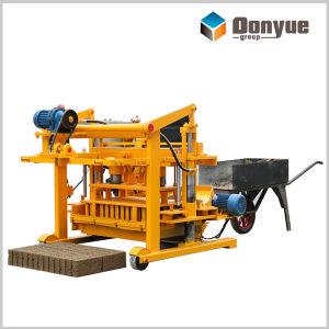 Movable Egg Layer Hollow Block Making Machine (QT40-3A) pictures & photos